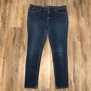 Mossimo Curvy Skinny Jeans